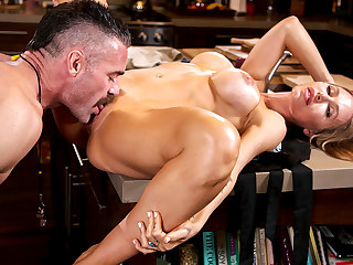 Nicole Aniston & Charles Dera far Nicole Aniston Fucks Her Son's To the point - BangBros
