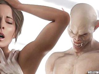 3D Unfamiliar Monsters Celebs Mansion Invasion
