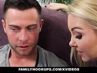 FamilyHookups - Step Milf Aaliyah Adulate Seduces unintended step son Dylan