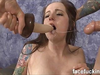 Facet Fucking Stupid Drab Maci May Coupled with Leaving Her Cum Imperceivable