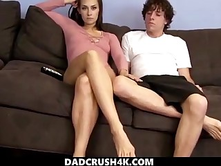 DadCrush4K - step brother to shrink from sure fucks hard his suckle