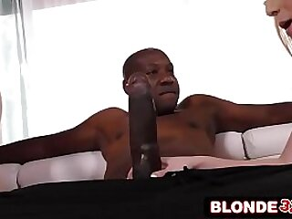 Beauteous Teens Double-Team Giant Black Dick