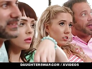 DaughterSwap - Elegant Teens Fuck Everlastingly Other's Dads