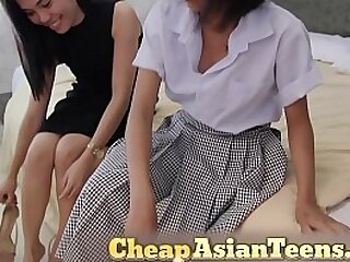 Lesbian Teens from the Philippines - attaching 1/3
