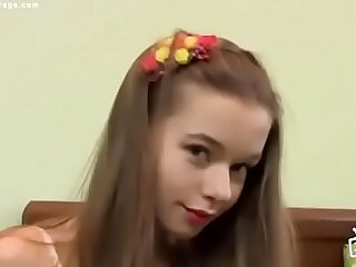 Beatiful  milena d sunna russian teen dance