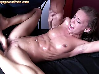 Petite Teen has Big Orgasms