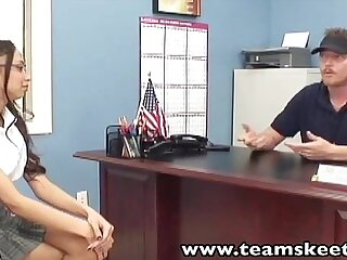 TeamSkeet Teens with Glasses video