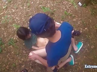 Jav Teen Henada Fucks Uncensored In Broach Park, Skinny Girl