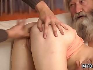 Teen anal imitate dildo  emaciated babe dp