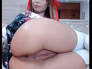 Double Anal Toy Teen Girl Webcam