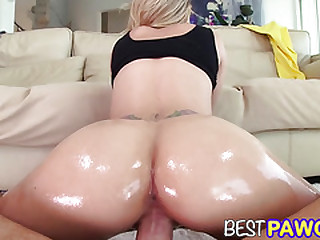 Blonde PAWG Jessa Rhodes Sucks and Fucks in HD BPOV14562