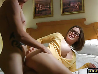 Super hot milf with big boobs getting fucked part 2