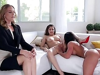 Mommy's to sum up girl is a lesbian! - Nina North, Aspen Rae and Mona Wales
